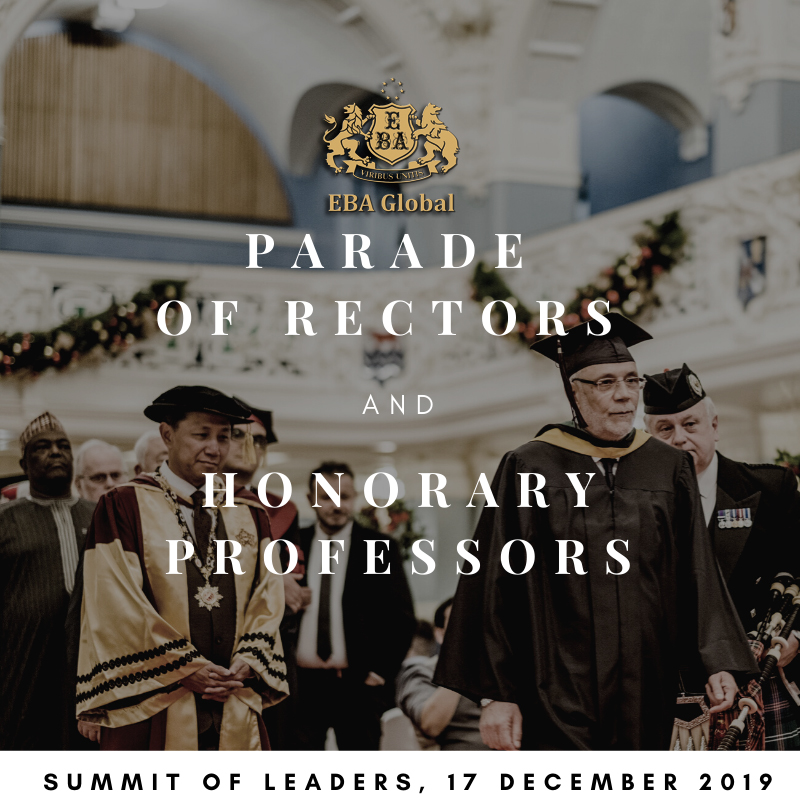 The Grand Parade of Rectors and Honorary Professors of Academic Union