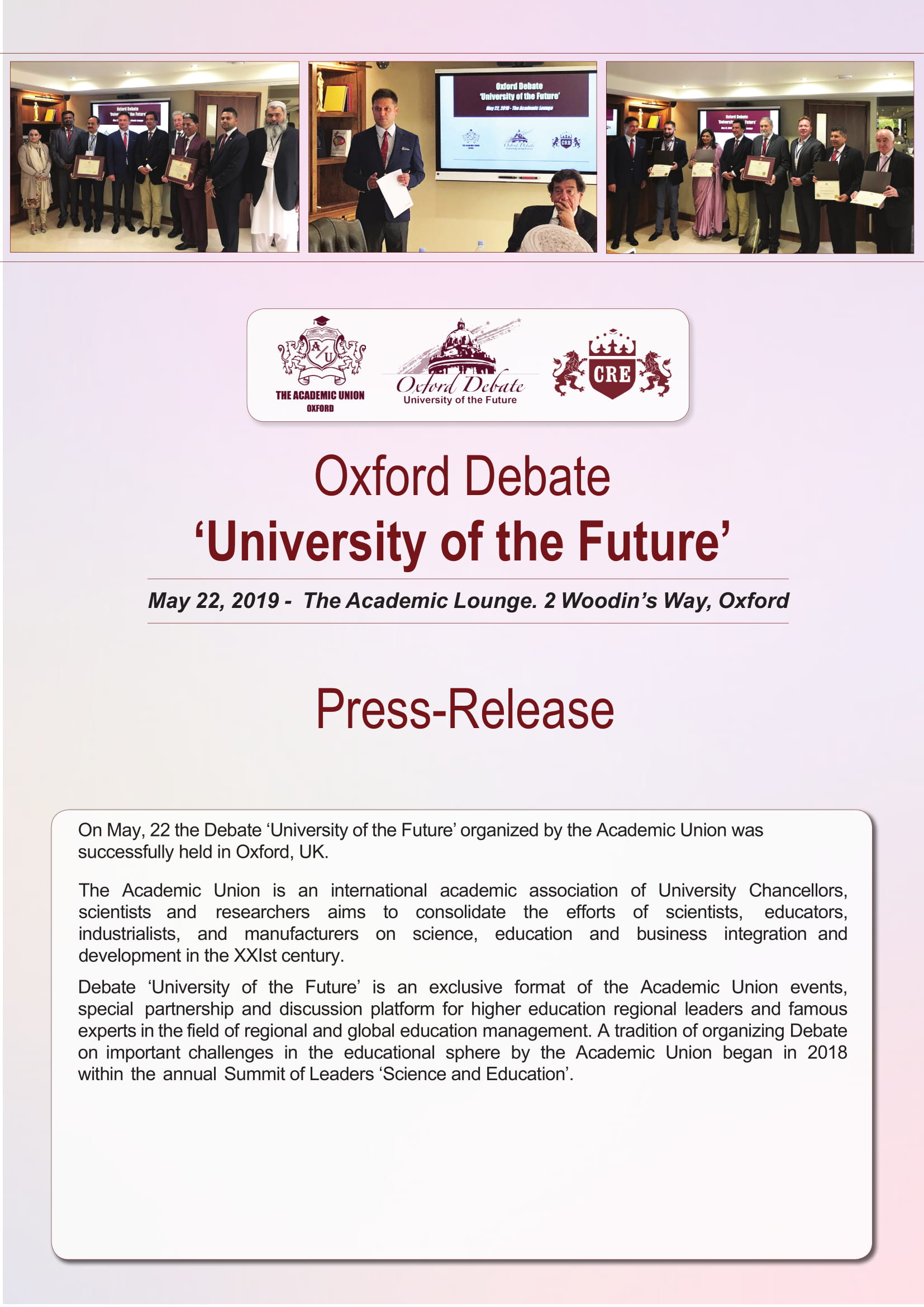 Oxford Debate: 'University of the Future'