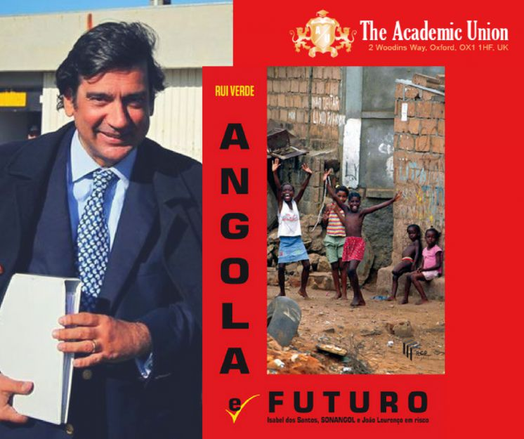 Read with us 'Angola and future' - new book from our honourable speaker Dr Rui Verde!
