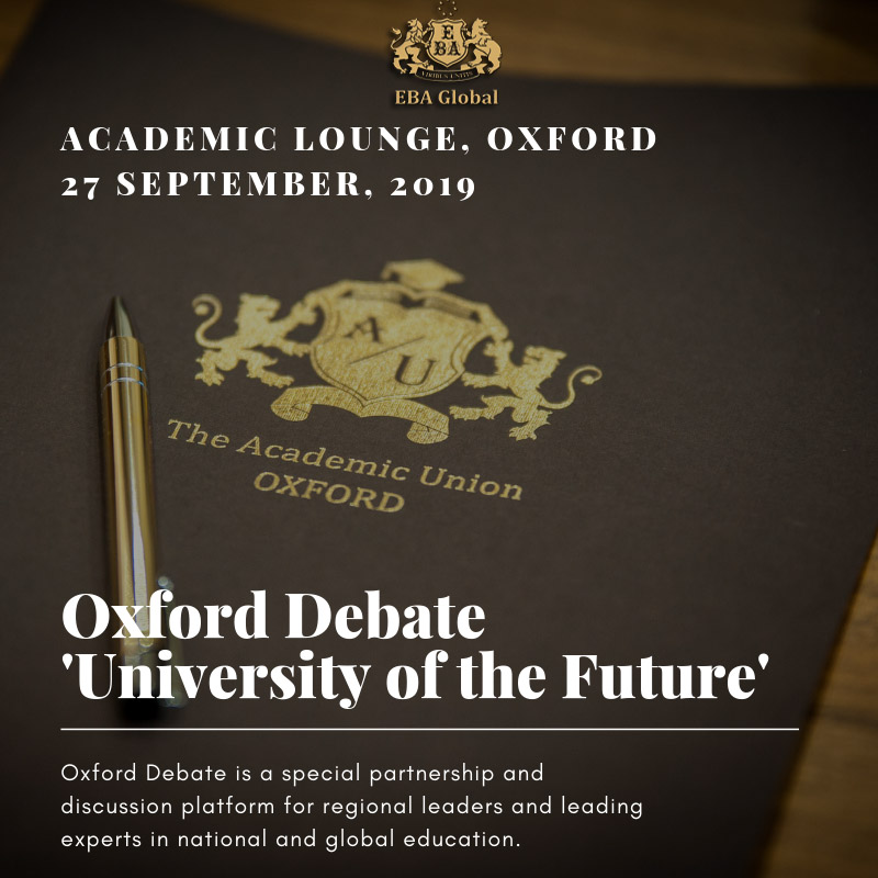 Oxford Debate 'University of the Future'