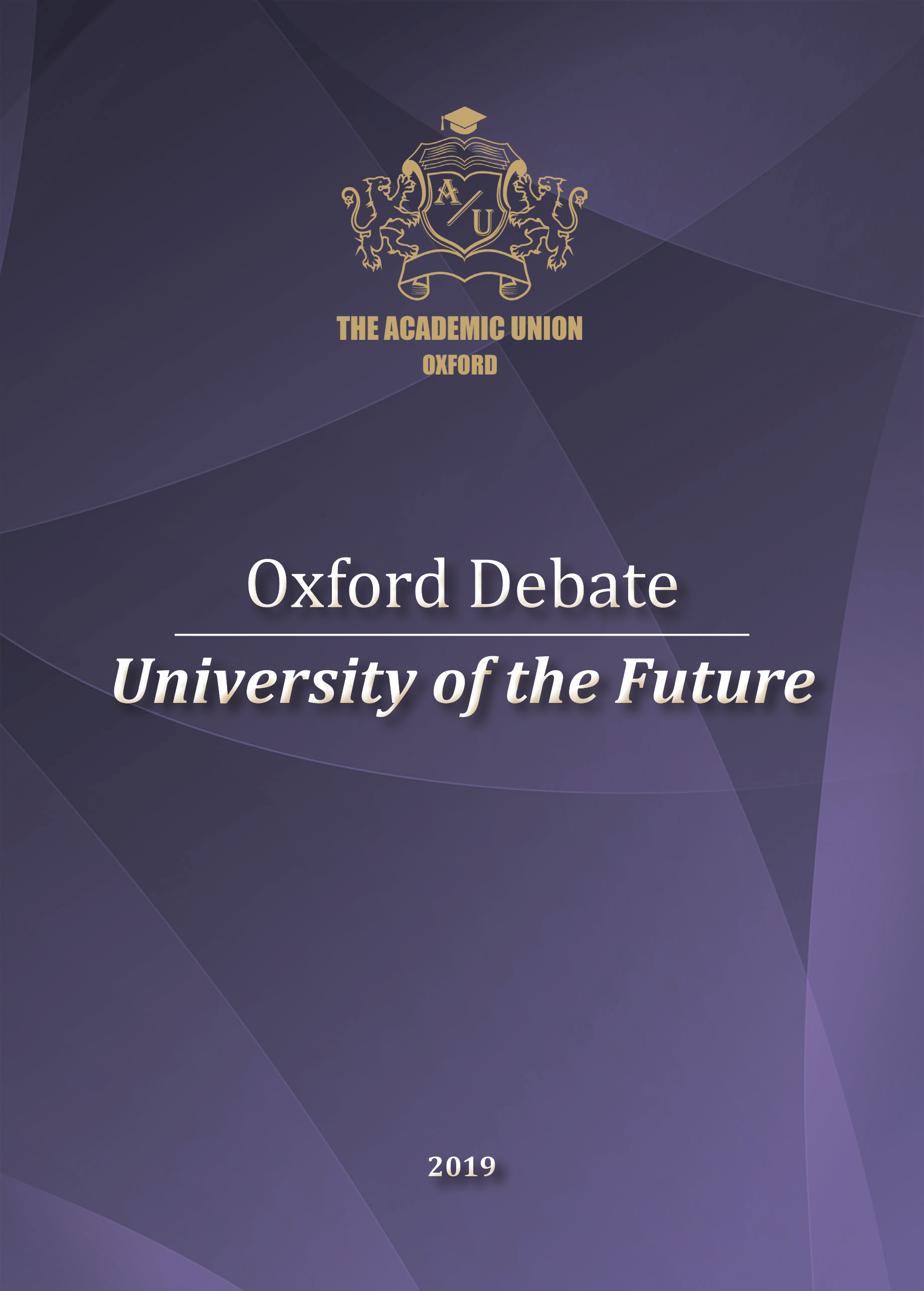 Collection of speeches of higher education leading experts 'Oxford Debate 'University of the Future' is now available