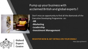 Get a competitive advantage from Oxford to your career and business!